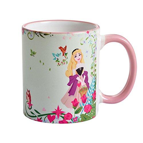 Dornröschen Disney Tasse Aurora Draw From Your Heart von Elbenwald 320ml Keramik (Disney Aurora)