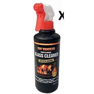 Burner – Limpiador profesional para cristales de estufas, chimeneas y hornos, 500 ml