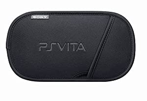 Protective Travel Carry Soft Cover Case Bag Pouch Sleeve Compatible for Sony PS Vita PSV Color Black