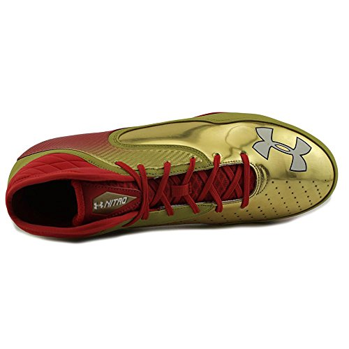 Under Armour Team Nitro Icon Mid D Breit Synthetik Klampen Red/Mgo/Mgo
