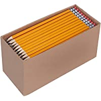 AmazonBasics Boîte de 150 crayons à papier prétaillés HB n°2