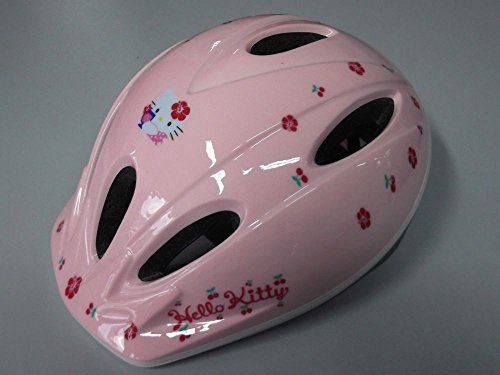 Casque Vélo Enfant Helmet Kids Bike ironway Original Hello Kitty TG.M
