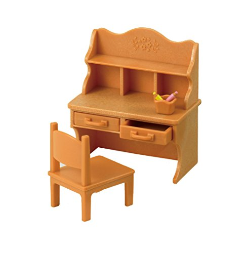 SYLVANIAN FAMILIES- Child Enfant Desk Set, 5153, Multicolore