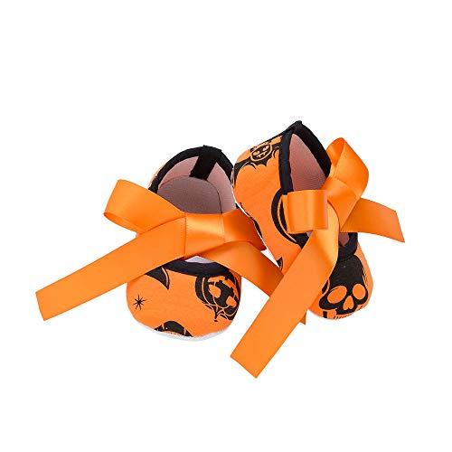 ❤️ Halloween Zapato Cute Baby Niña Antideslizante Recién Nacido