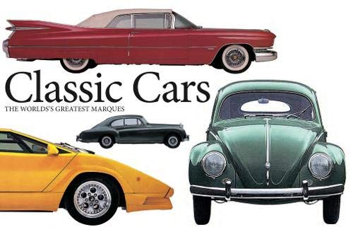 Classic Cars: The World's Greatest Marques (Landscape Pocket)