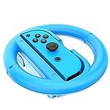 Joy-Con Rad Zubehör Paar Lenkrad für Nintendo Schalter (2Pack) Rot/Blau