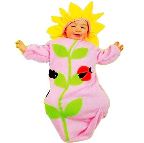 Geburt Kostüm Tiere - alles-meine.de GmbH Baby Kostüm -  süßer Blume mit Marienkäfer  - ab 0 Jahre / Geburt - Babykostüm - Einteiler / einteilig - Tier Kostüm - Karneval Kinder Kind Kinderkostüm / F..