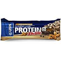 USN Protein Delite Bar, Toffee Almond - 18 x 50 g