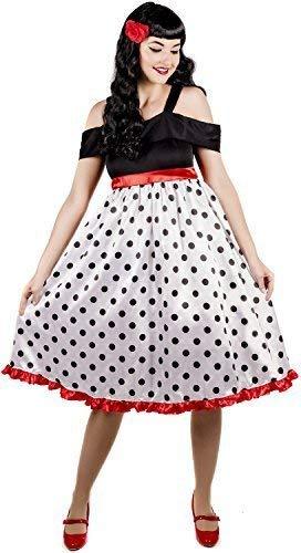 Vintage Kostüm Buch - Fancy Me Damen Sexy 1950s Jahre 50s Jahre Rockabilly Rebel Henne Do Abend Party Vintage Retro Tv Buch Film Kostüm Kleid Outfit UK 8-26 Übergröße - UK 24-26
