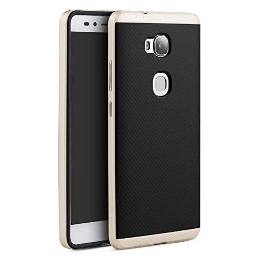 Huawei Honor 5X Custodia, Vikoo Ultra Sottile Peso Leggero Back Shell Protettiva Cover per Huawei Honor 5X Smartphone Case - D'oro