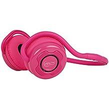 Arctic Cooling P311 - Auriculares de diadema abiertos inalámbricos (con micrófono, Bluetooth, incluye bolsa), rosa