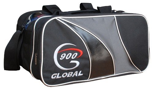 900 Global Double Tote für 2 Bowlingbälle (Ball Tasche Tote 2 Ball Bowling)