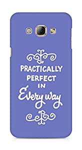 AMEZ practically perfect in every way Back Cover For Samsung Galaxy A8