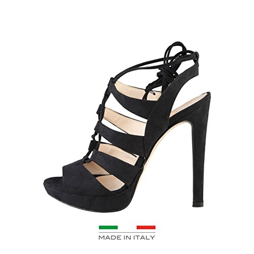 Made In Italia Flaminia, Infradito donna nero Size: EU 40
