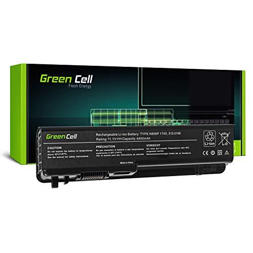 Green Cell Standard Serie U150P U164P Laptop Akku für Dell Studio 17 1745 1747 1749 (6 Zellen 4400mAh 11.1V Schwarz)