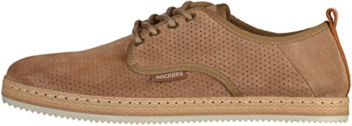Dockers 40BZ001 hommes Derbies Light Marron