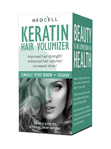 Keratin-Haar-Volumizer, 60 Kapseln - NeoCell -