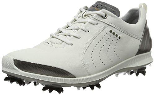 Ecco Damen Women'S Golf Biom G 2 Golfschuhe, Weiß (54510WHITE/Buffed Silver), 38 EU