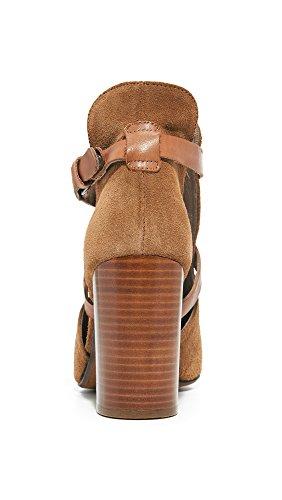 H by Hudson Damen Geneve aus Veloursleder Cognac Cognac kNqQXd