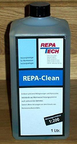 REPA-CLEAN Heizungsreiniger gegen verschlammte Rohre