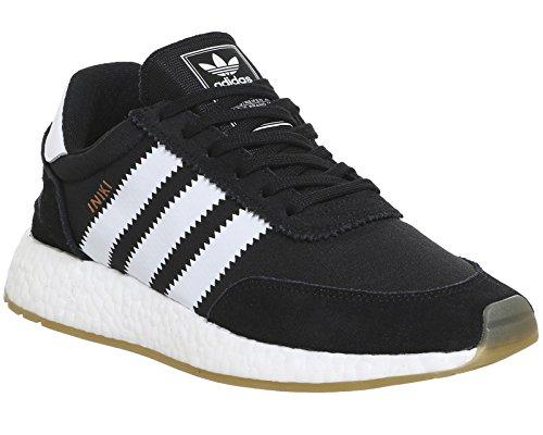adidas Iniki Runner, Sneaker a Collo Basso Uomo Nero (Core Black/Ftwr White/Gum 3)