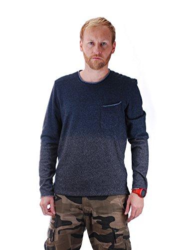 khujo -  Felpa con cappuccio  - Abbigliamento - Uomo grigio L