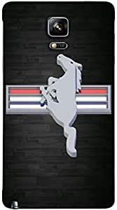 Timpax protective Armor Hard Bumper Back Case Cover. Multicolor printed on 3 Dimensional case with latest & finest graphic design art. Compatible with Samsung Galaxy Note 4 Design No : TDZ-26394