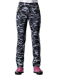 Damen Camouflage Jogginghose Sporthose Fitness Freizethose Army Hosen Treggings