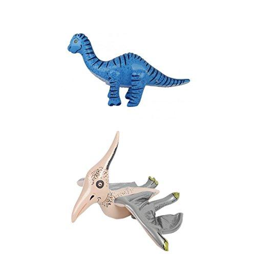 Partido Juguete Brachiosaurus Inflables Hinchables Favorece Azul+ Inflatable Blow-up Pterosaurio Dinosaurio Juguete...