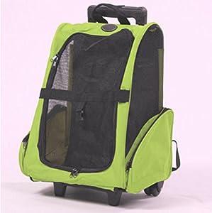 OOFWY Sac de voyage pour animaux / Roulette double / Tiroirs Boîte / Sac à dos portatif pour chat et chien / Nid d'animal familier / Matériel en tissu Oxford , 1-Small