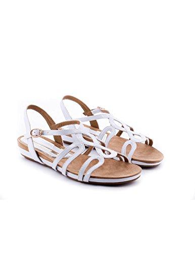 Sandale MariaMare Blanc 66053 Blanc