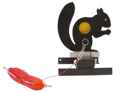 Gamo Field Target Eichhörnchen - Klappfallscheibe für Luftgewehre und Softairwaffen > 3,0 Joule