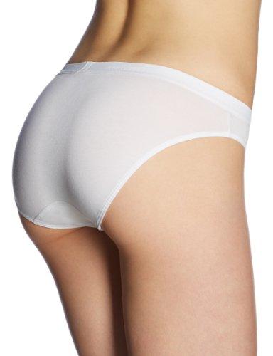 Schiesser Damen Slip Rio-Slip (3er Pack) Weiß