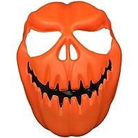 Amlaiworld 1PC Testa di zucca maschera Halloween Cosplay Carnevale maschera fantasia