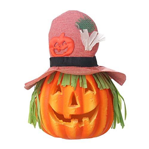 Halloween Hallo Kostüm Kitty - TZJ Halloween-Laterne Ghost Kürbis-Laterne Geister-Festival Bar klingende Kürbis-Licht Veranstaltungsrequisiten Großhandel rosa Hut klängende Laterne Kürbis