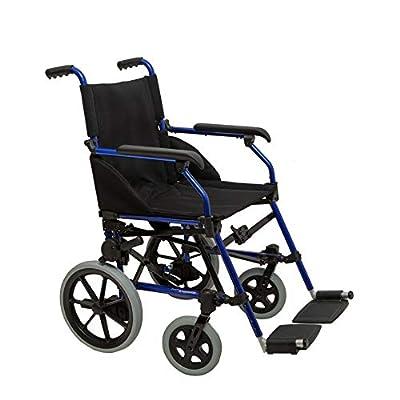 Dash Stowaway - Ultra Lightweight ,Aluminium, Attendant Propelled Wheelchair, Easy Folding