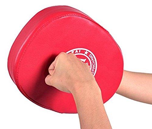 Red Boxing Mitt training target Focus punch Pad guanti MMA karate Muay Kick kit