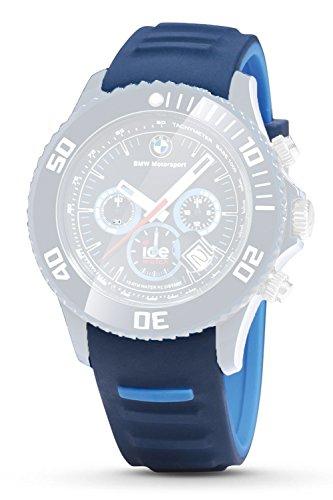 Orig. BMW Bracelet le Moteur Sport Ice Watch Chrono montre bracelet unisexe Bleu foncé