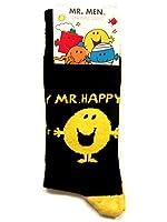 Mens Socks MR MEN Novelty Mr Happy