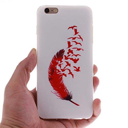 """Coque étui Pour Apple iPhone 6 Plus 6S Plus 5.5"""" Ultra Fine Slim Case Poids léger Flexible TPU Gel Anti Choc Peinture Motif Fille Sexy Couleur-4"""