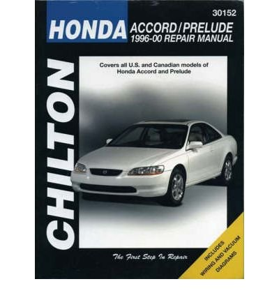 [ HONDA--ACCORD/PRELUDE: 1996-00 ] Honda--Accord/Prelude: 1996-00 By Chilton ( Author ) Nov-2000 [ Paperback ] (Accord 1996 Honda)