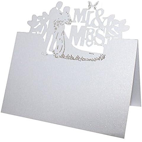 PIXNOR 50pz tavolo posto nome carta matrimonio