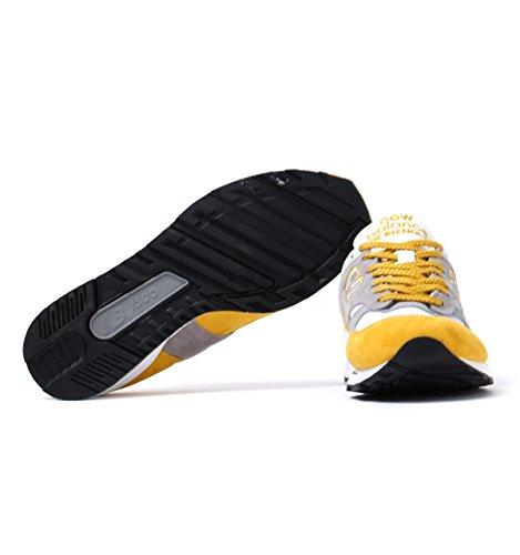New Balance M1500 Yellow Suede, YG yellow-grey YG yellow-grey