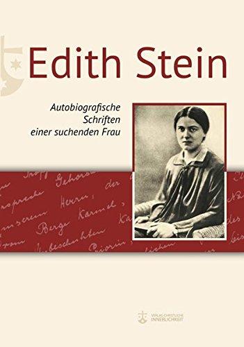 suchenden SteinAutobiografische Schriften Edith Frau einer wO0nkP