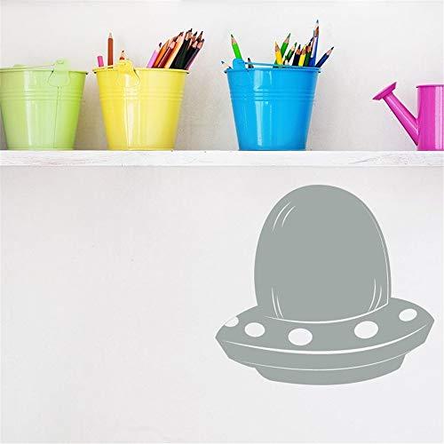 stickers muraux fée clochette Soucoupe volante Ufo comique Extraterrestres pour chambre d'enfant chambre de garçon