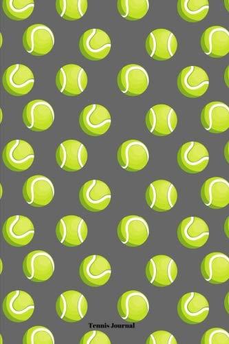 Tennis Journal: Sports Notebook, Boys Tennis Coach Gift, Men's Tennis Player Gift, 6