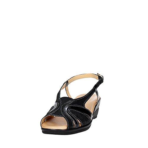 Cinzia Soft IO567-CV 002 Sandal Damen Schwarz