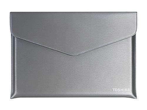 TOSHIBA Ultrabook Sleeve (33,8cm 13,3 Zoll, stahlgrau-metallic für Z30-A)