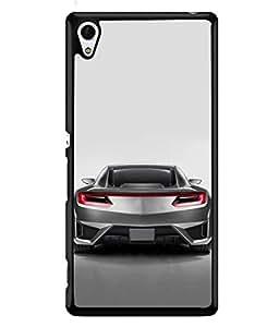 FUSON Designer Back Case Cover for Sony Xperia Z4 Compact :: Sony Xperia Z4 Mini (Automobile Car Concept Drive Fuel)