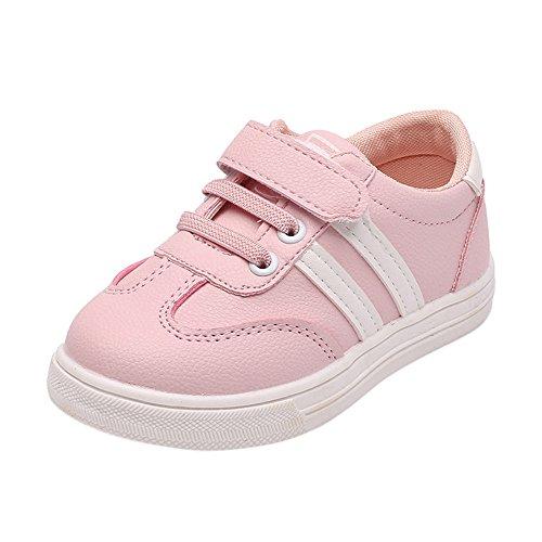 Binggong Chaussures Bébé Chaussures Bébé Enfants Mode Sneaker Enfants Garçons Filles en Cuir Casual Running Chaussures De Sport Baskets Garçon